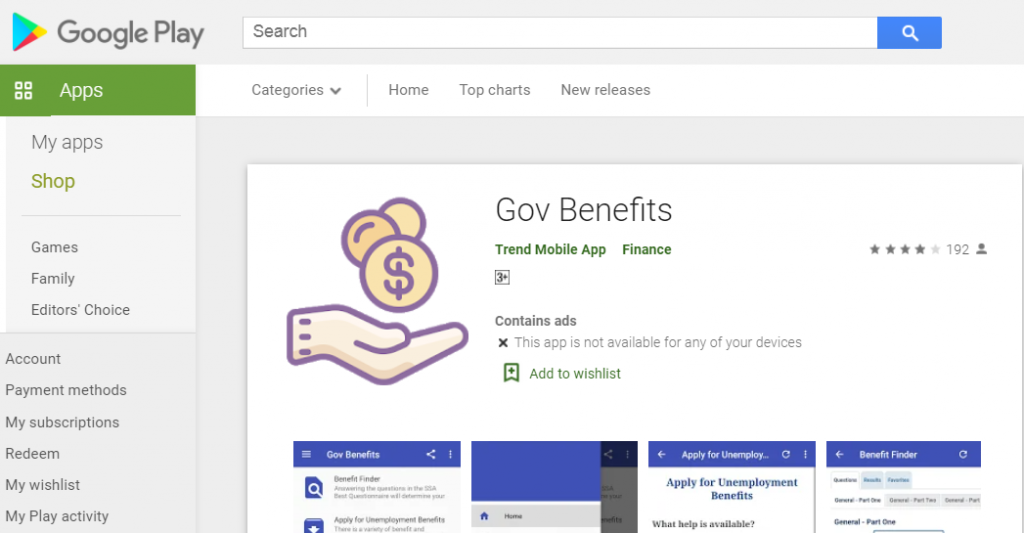 US Government Benefits - How to Download the App