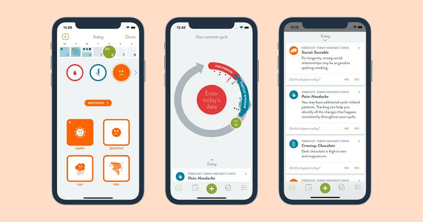 Clue App To Record Menstruation