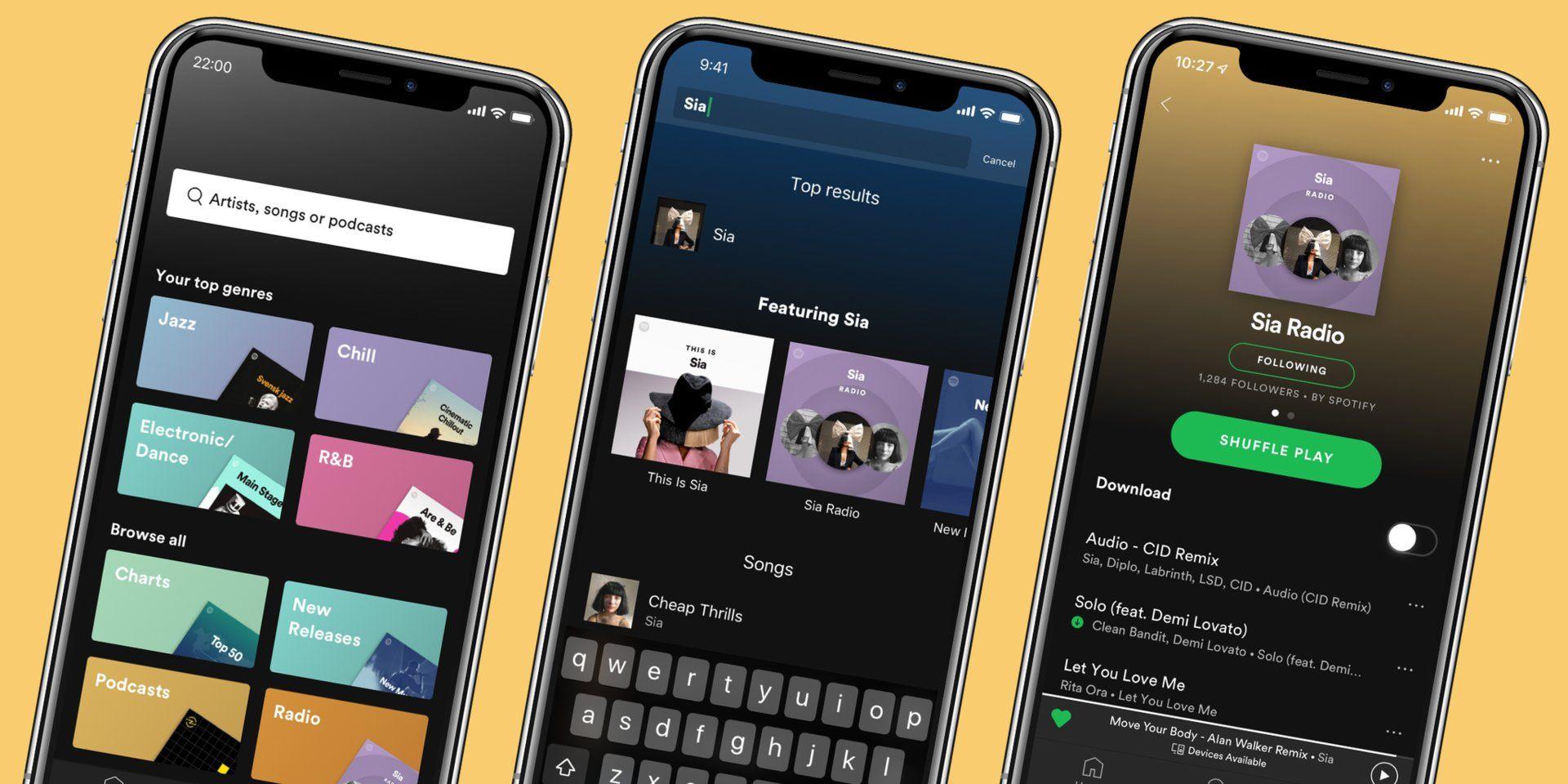 Make a Custom Playlist by Downloading the Spotify App