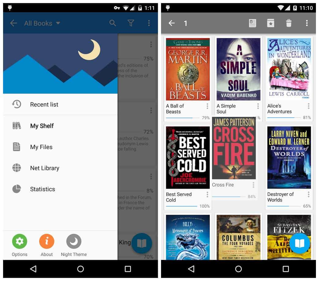 Highlight While Reading a Book - Learn How to Download Moon+ Reader