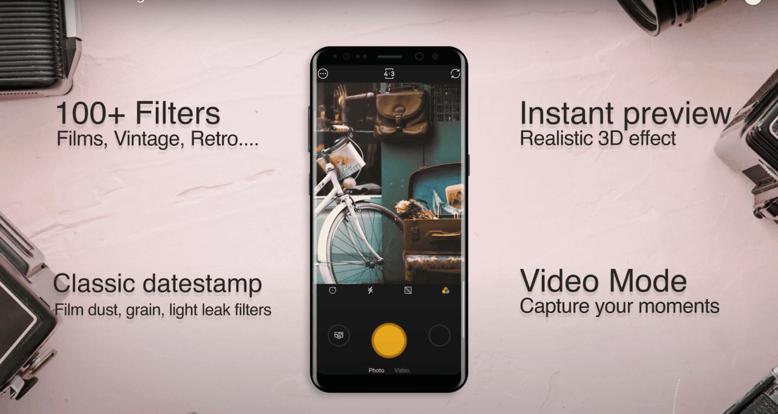 Discover Apps That Help Users Take Retro Photos