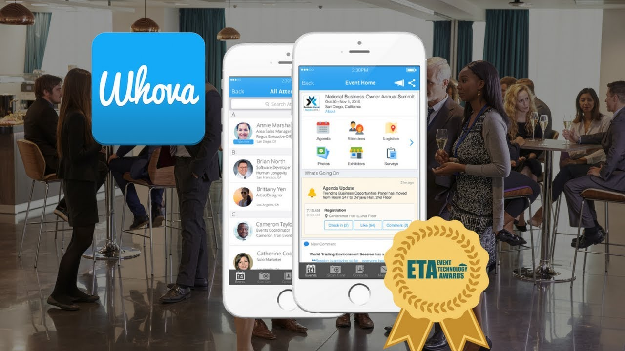 Download Whova: The Professional Networking App for Conferences