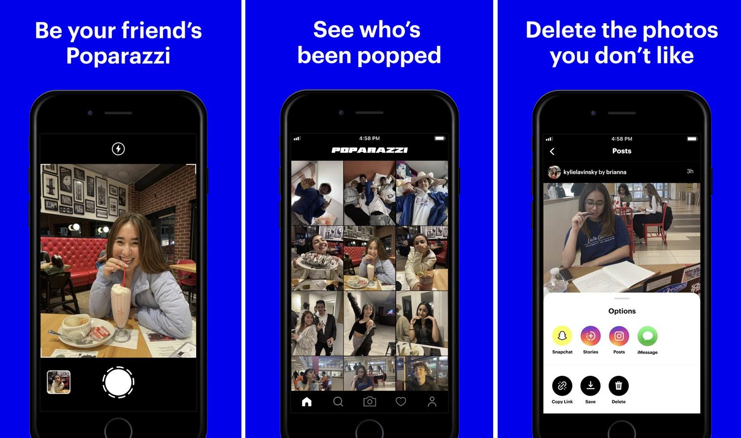 Capture Photos of Friends - Download the Anti-Selfie Poparazzi App