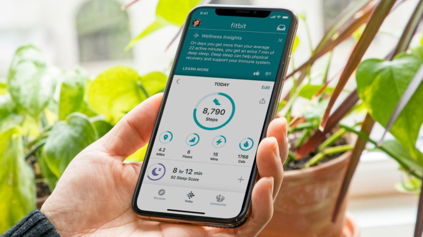 Fitbit Coach App - Exercise at Home