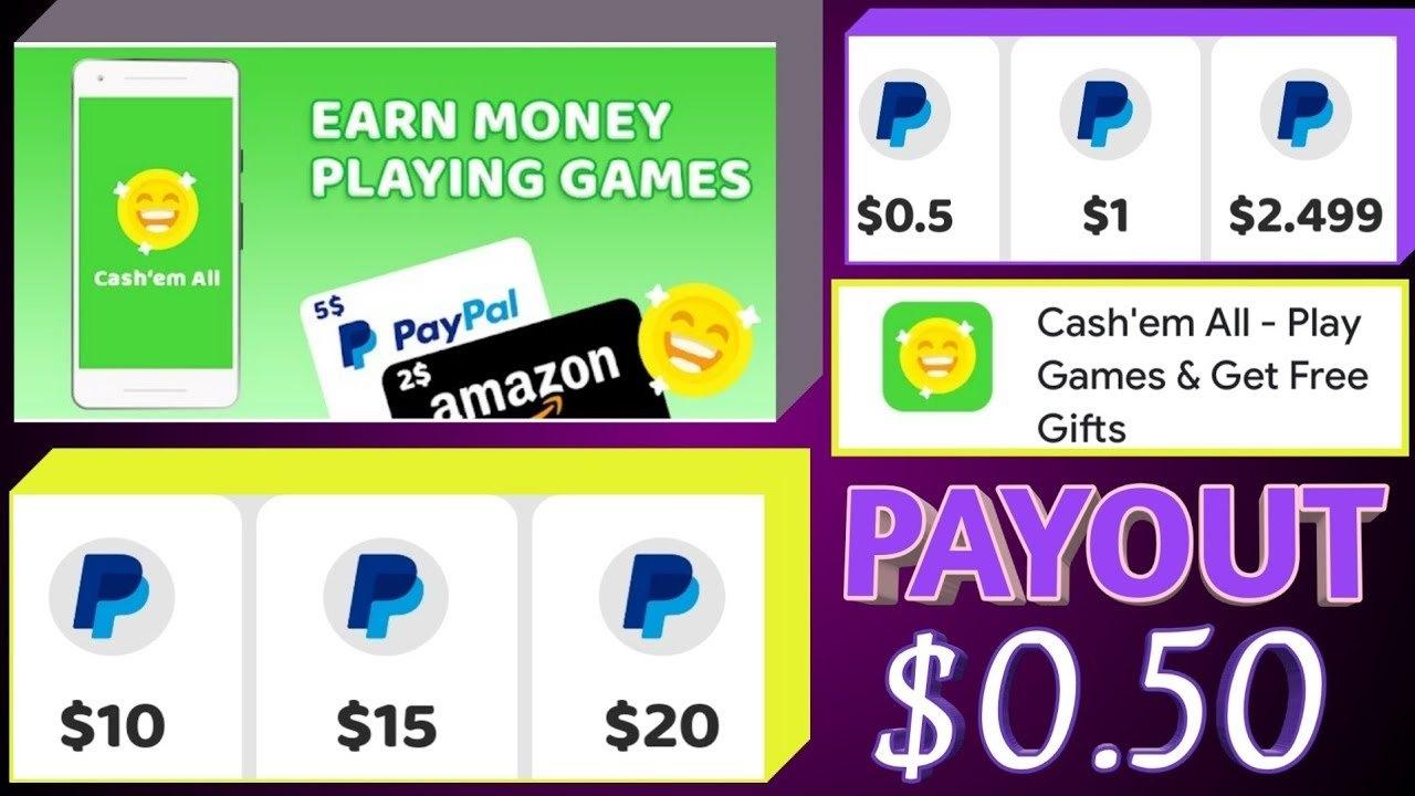 Cash'em All - Earn While Having Fun
