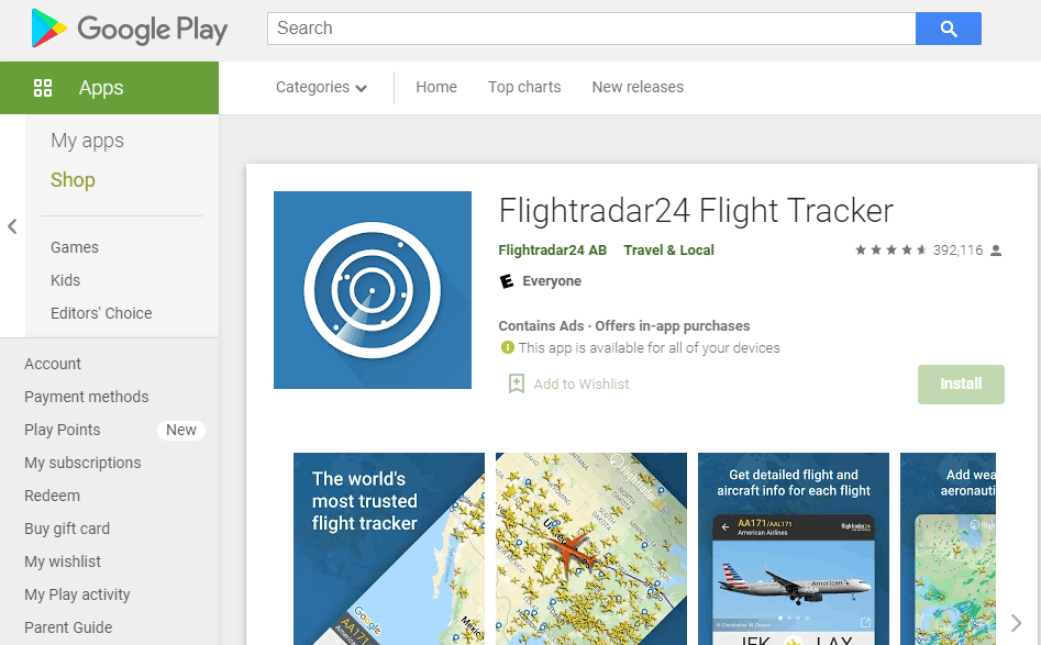 Flightradar24 - The Best Flight Tracker App