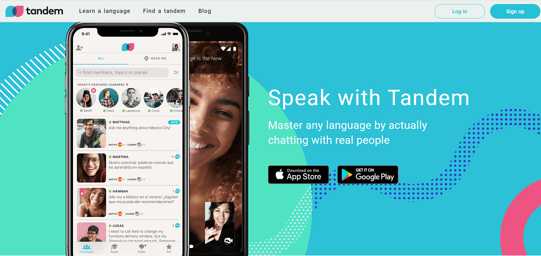 Tandem App - Learn With A Native Speaker