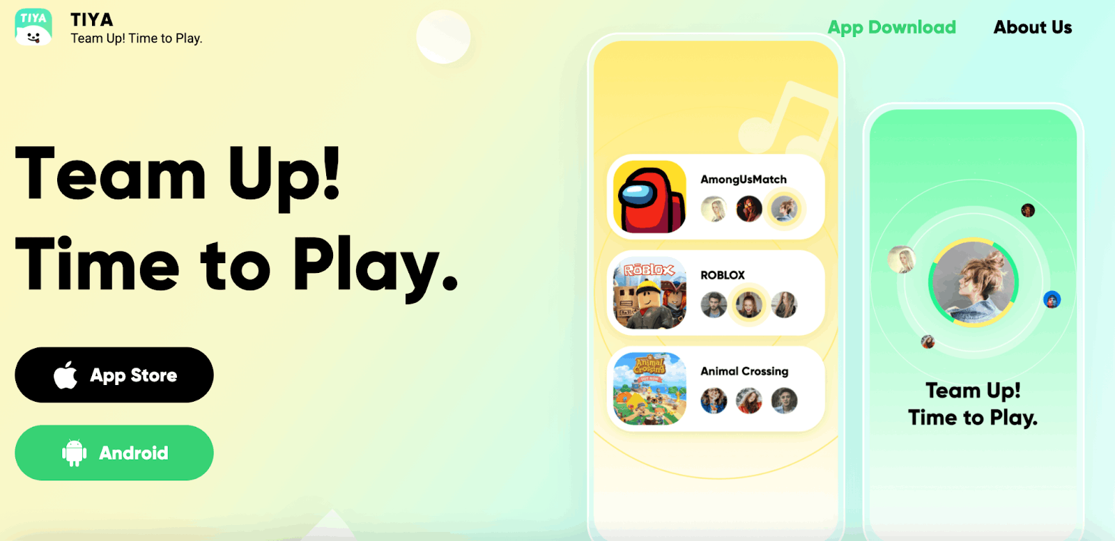 Tiya - Chat and Play Games with Friends