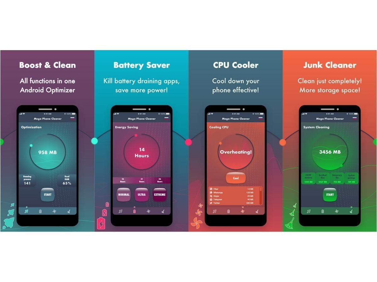 Mega Phone Cleaner - Clean And Boost Phones