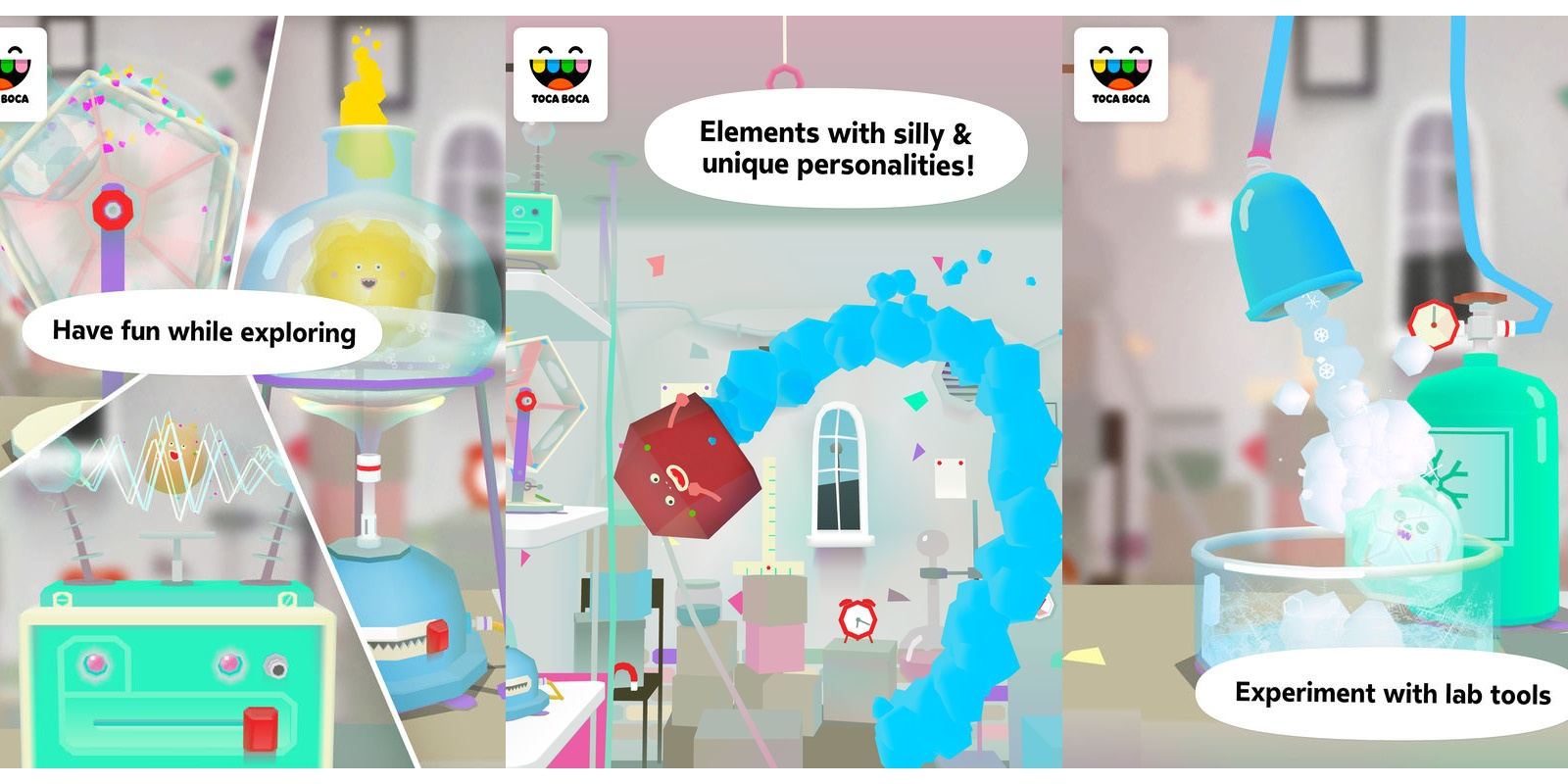 Become A Scientist With The Toca Lab: Elements App