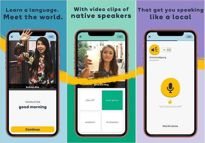 Learn A New Language With Memrise