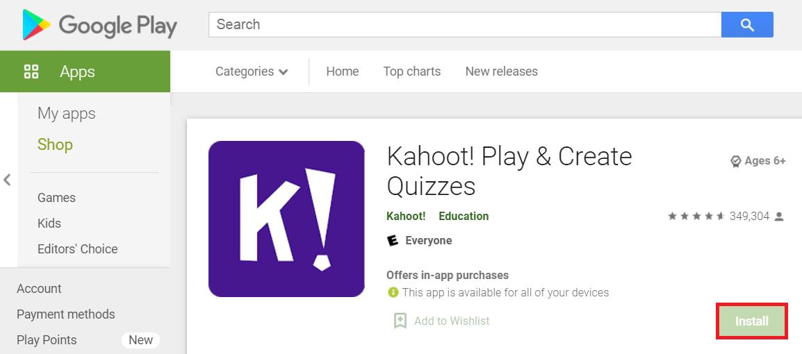 Kahoot! - Create Quizzes