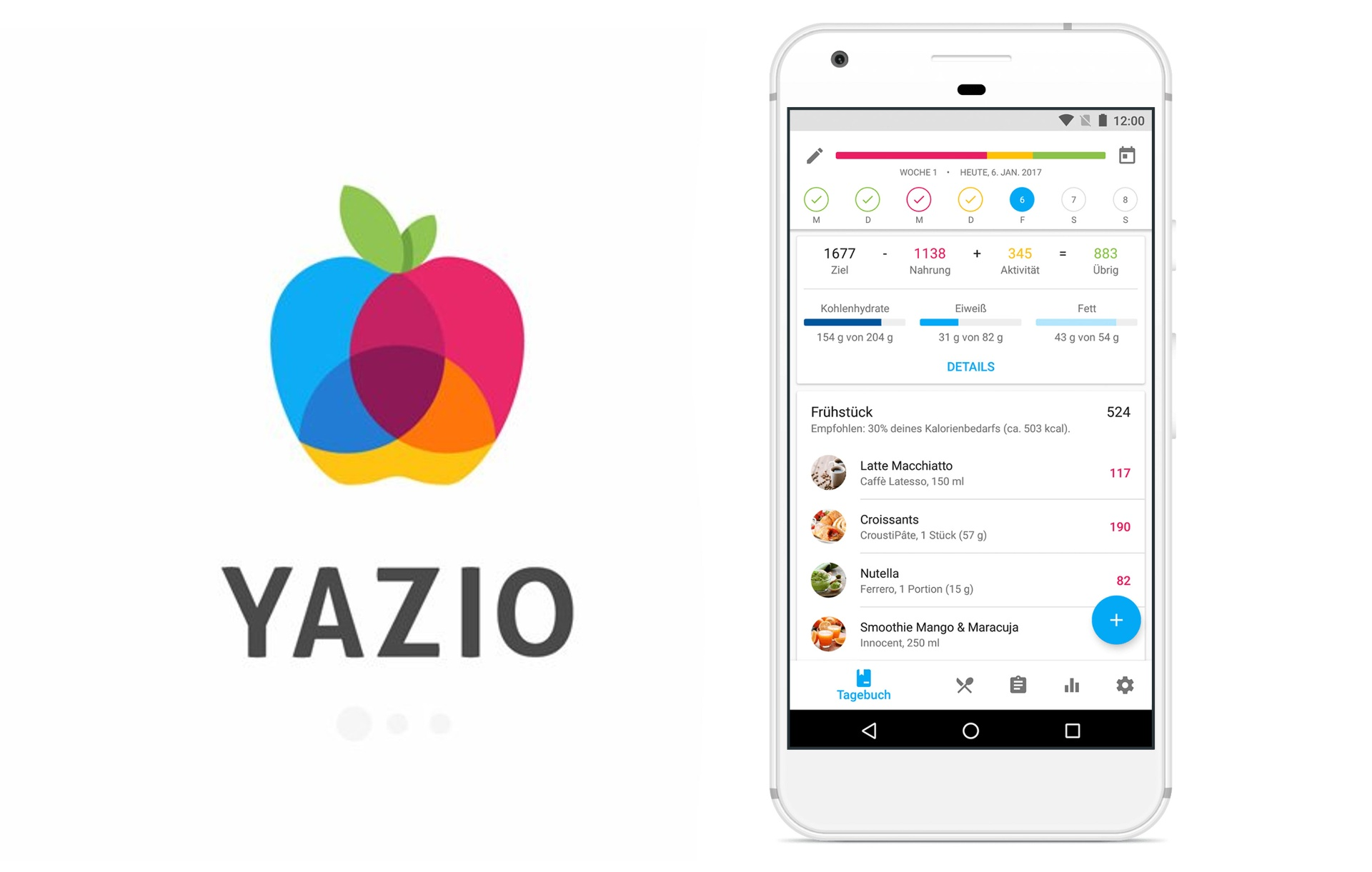 YAZIO - See How To Download This Calorie Counter
