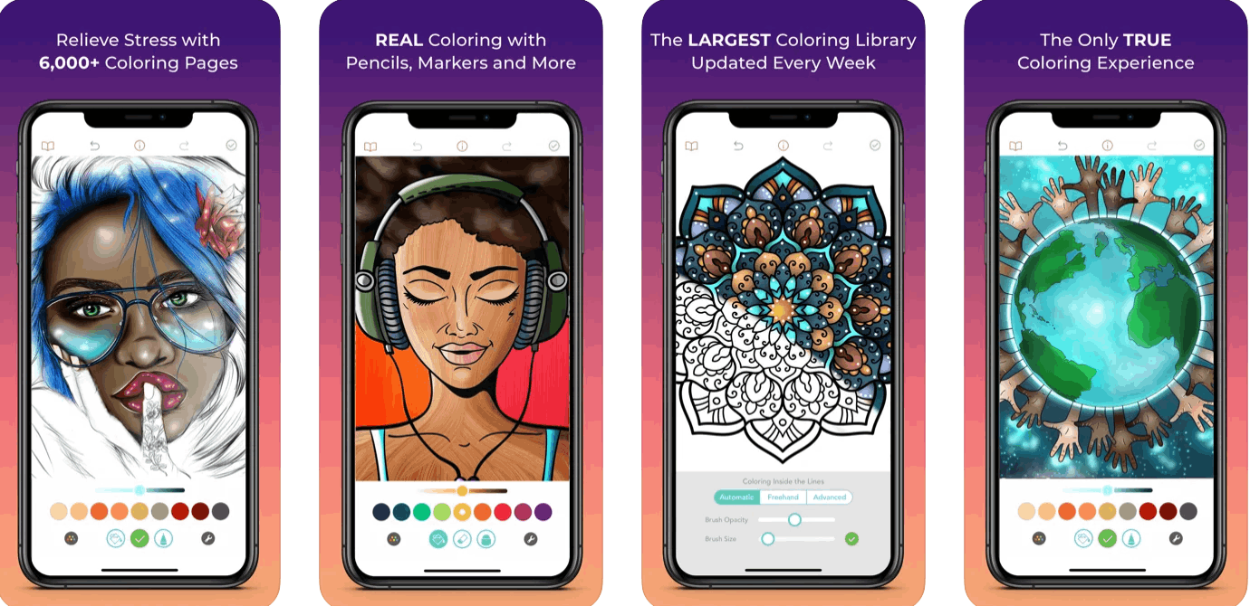 Why Coloring Apps Are So Popular