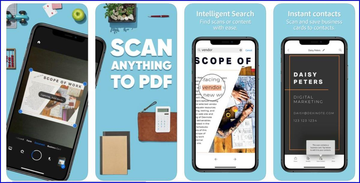 Adobe Scan App - How to Download
