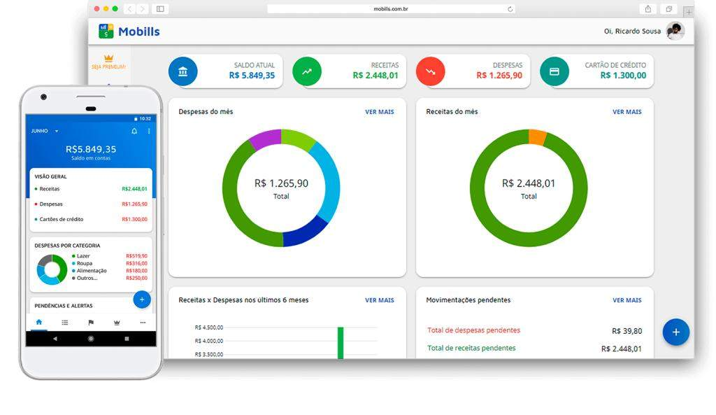 Mobills App - Financial Control