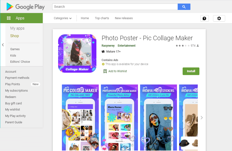 Photo Poster App - Change Photo Styles Easily
