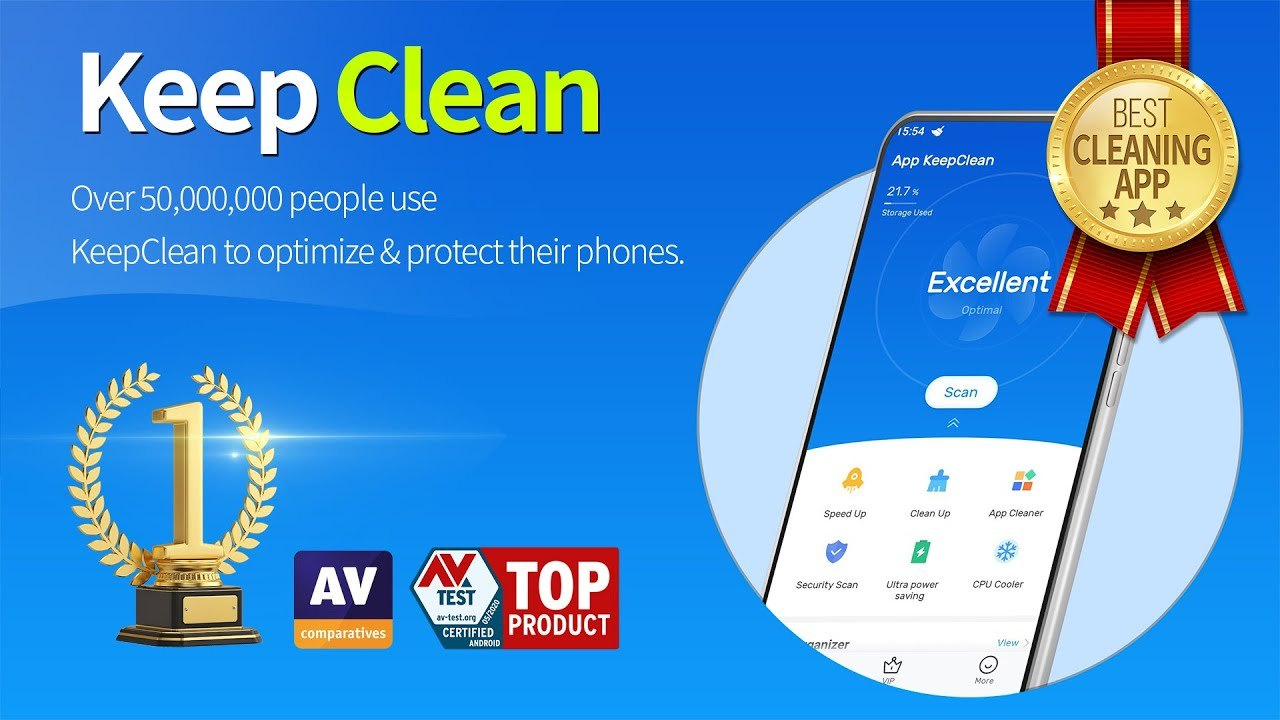 KeepClean - Optimize Any Mobile Device